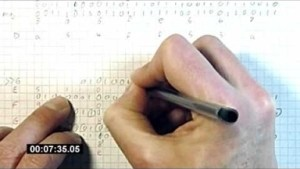 Video: Mining Bitcoin with pencil and paper
